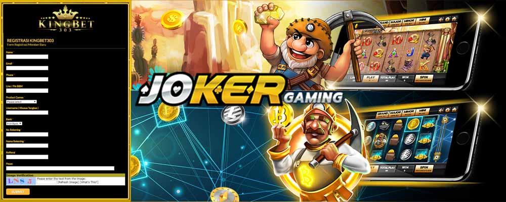 Daftar Akun Joker123 Gaming